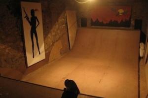 Blenheim Skate Ramp