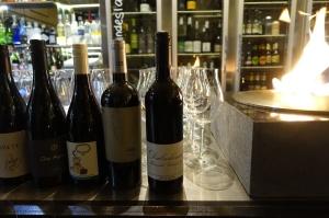 Lindes Lane - Wine on bar